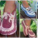 Crochet Footwear & Handwarmers / Socks, slippers and handwarmer ideas