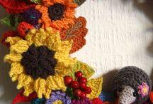 Crochet Flowers, Butterflies & Snowflakes / Crochet embellishments