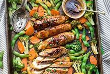 Sheet Pan Dinners / Sheet Pan Dinners that are easy, delicious and healthy!