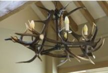 Antler Ideas / Here are a range of our ideas with naturally shed antler horn for lighting and furniture. We like to be inspired.