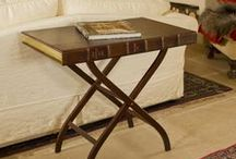 book tables / Wonderful replica antique books used for home décor as tables.