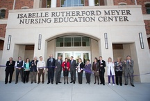 Isabelle Rutherford Meyer Nursing Education Center / by UMHB Alumni Association