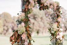 R U S T I C A I S L E S / A board with a variety of wedding aisles. #aisles #weddings