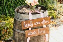 R U S T I C I D E A S / Beautiful rustic wedding ideas #brides