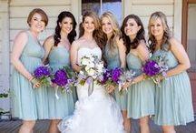 B R I D E S M A I D S / A collection of images of best friends to bridesmaids