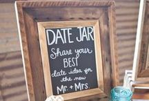 G U E S T T A B L E S / Fun guest table ideas for your rustic wedding #guesttables