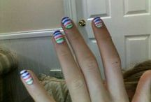 Nail designs by Stella  / Nails and toe nails done by us