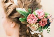 H A I R / Searching for the perfect wedding hairstyle? This album has got you covered.  #bride #hairstyle #makeup