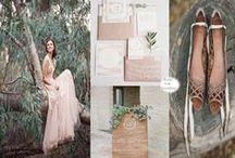 C O L O R P A L E T T E S / Diverse range of wedding color palette inspirations #inspirationboard