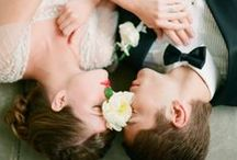 B R I D E & G R O O M / Beautiful collection featuring romantic images of the bride and groom. #weddings #photography