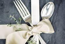 M E N U S / Beautiful menu ideas for your wedding! #menus