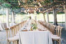 R U S T I C R E C E P T I O N / Features gorgeous wedding receptions #receptions #weddings