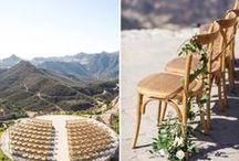 C E R E M O N Y / Fun ideas for designing your wedding ceremony ideas! #design