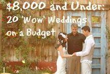B U D G E T B R I D E / Easy and budget friendly DIY Wedding Ideas #DIY #budgetfriend #weddings
