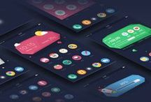 App - Mobile / App and mobile design, UI, UX that inspired us.