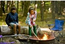 Discover Camping / Places to rough it (or park your camper) in the Monadnock Region!
