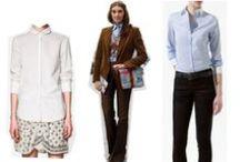 Naisten eleganssia työssä / Naisten pukeutumista ja muotia työssä sekä työhaastetteluissa. Rennosta virallisempaan.