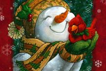 Christmas / Cards, decorations, gifts and all things Christmasy.