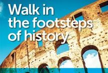 FOOTSTEPS OF HISTORY / Latitude Group Travel's WALK IN THE STEPS OF HISTORY tour program brings your school's HISTORY CURRICULUM to life with its rolling classroom of discovery.