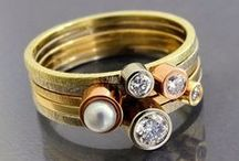 BIZOE Pierścionki / Rings / Biżuteria BIZOE / BIZOE JEWELLERY / gold stacking rings  www.bizoe.pl