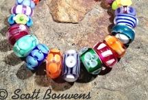 Colorful Lampwork Bead Sets