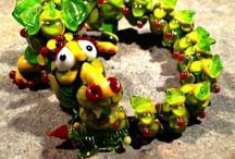 Lampwork Dragons