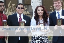 Marist Model U.N. / The Marist High School's team received a total of seven awards at this year's Model U.N.