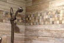 Shower Ideas / Check out these incredible ideas for a shower made of tile and stone. Visit your local CarpetsPlus COLORTILE store for even more amazing design ideas.