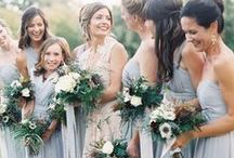Weddings | Summer Blues / Blues will be huge in 2015 - spring hues include pastels, dusk blues and aquamarine
