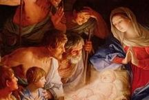 Navidad....The Christmas Story! /  Heaven in earth ! and God in man ! Great little one, whose all-embracing birth Lifts earth to Heaven, stoops Heaven to earth ! ....Richard Crashaw