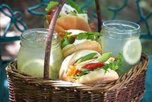 Zomerdrankjes en picknick