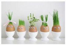 Paasinspiratie / Pasen is de ideale gelegenheid om lekker creatief uit te pakken!