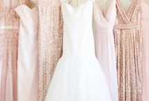 Bridesmaids Dresses and Hair