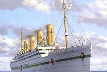 RMS Gigantic/HMHS Britannic
