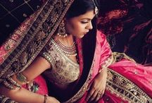 The Indian way! / Following the Indian fashion bandwagon! / by Shreya Giridhar