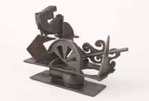 Sculpture of Jimmy Rix