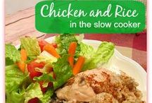Chicken - Slow Cooker Recipes