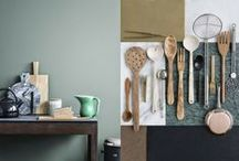 Green Kitchen / Touch of green-how many green tones can we find in the kitchen, how many styles and decor variations?