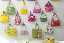 Storage: Handbag storage ideas