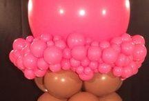 Ice Cream Theme Balloon Decor / Ice Cream Theme Party Balloon Decor.