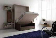 Lits escamotables sur mesure / Exemple de réalisations de lits escamotables sur mesure chez des particuliers.