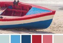 Colour Palettes / Examples of colour palette boards