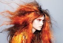 Hair / Hair for fashion photoshoots and catwalk.
