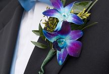 CORSAGES & BOW TIES & GROOMS & BRIDES