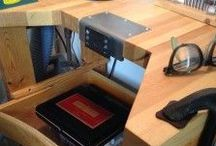 Work Spaces, Tool's, Storage & Inspiration / Work spaces I love Tools that look useful Organization methods I need  ... And other helpful and inspiring ideas to get you and I thinking
