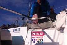 La Route du Rhum / We're sponsoring effervescent vet Juliette Petres, who is sailing on 'La Route du Rhum' race since the 2nd of November. Zolux is proud to be associated with Juliette's project, as we share the same passion for the animal world and the same values of authenticity the world of sailing conveys.