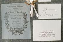 WEDDING INVITES & PAPER GOODS