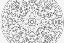 Pattern - Mandala / mandala pattern