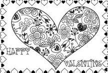 Pattern - Valentine's day / valentine's day pattern