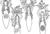 Pattern - Goddess / pattern goddess